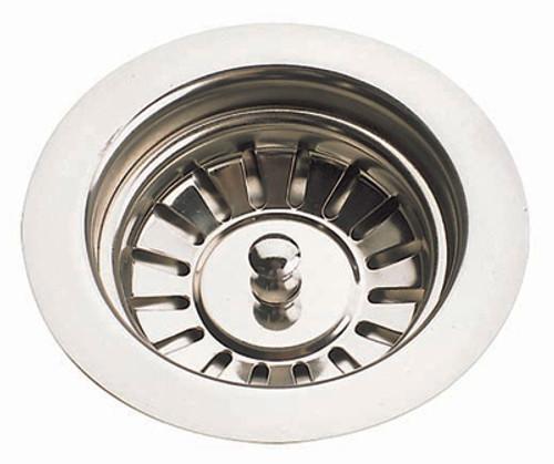 Brass & Traditional Sinks by McAlpine 90mm Ceramic Kitchen Sink Strainer Waste