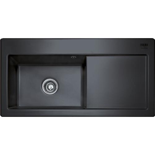 Franke Black Kitchen Sinks Franke mythos mtk611 ceramic black kitchen sink sinks franke mythos mtk611 ceramic black kitchen sink workwithnaturefo
