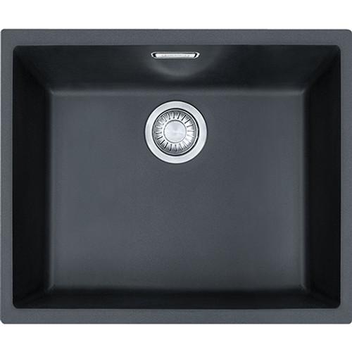 Franke Sirius SID110 50 Tectonite Carbon Black Kitchen Sink