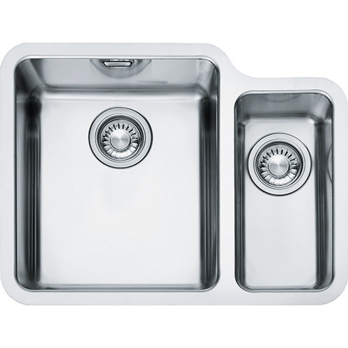 how to put in a kitchen sink franke kubus kbx160 34 16 stainless steel kitchen sink sinks 9534