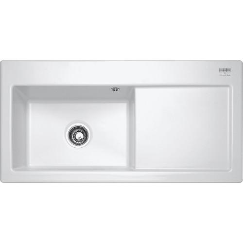 Franke Mythos MTK611 Ceramic White Kitchen Sink