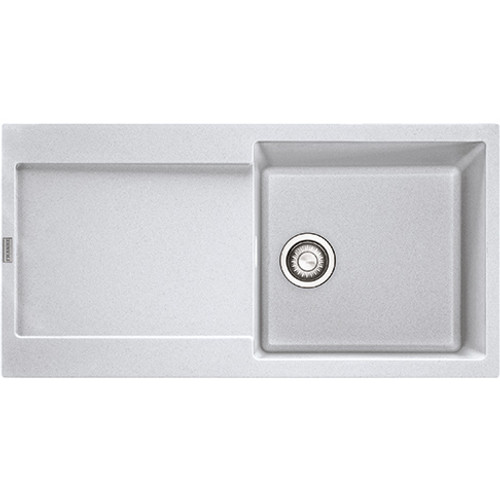 Franke Maris MRG611 Fragranite Polar White Kitchen Sink