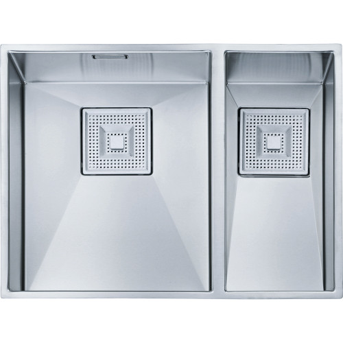 what are kitchen sinks made of franke peak pkx160 34 18 stainless steel kitchen sink sinks 9612