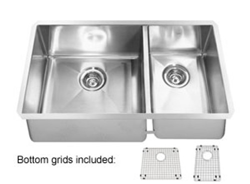 Kindred Clearwater Stainless Steel Undermount Kitchen Sink