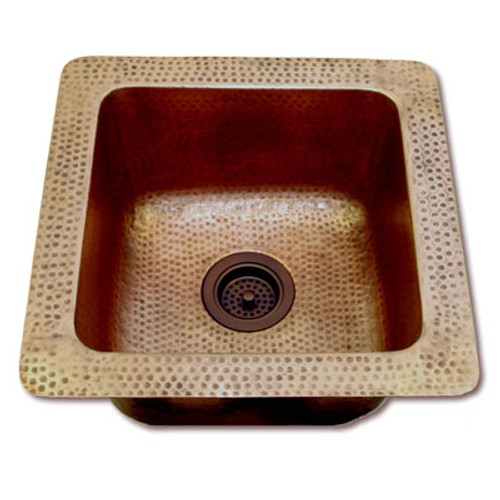 Eclectica Fontaine Copper Kitchen Sink