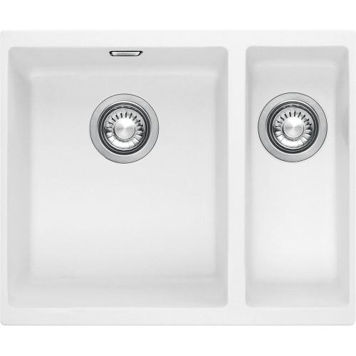 Franke Sirius Sid160 Tectonite Polar White Kitchen Sink