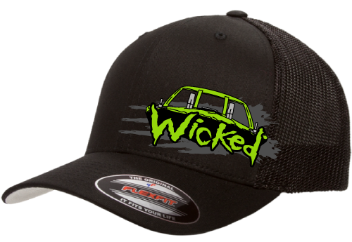 Wicked Hat-Mesh Back