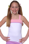 Girls Reversible Tennis Top SW-P2101-White Image 15