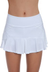 Eleven Women's Strike Solid Jamming Flounce Tennis Skirt E-CO276S Image 16