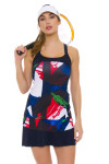 Fila Women's Heritage Riviera Print Tennis Skirt FT-TW171TW7-447 Image 1