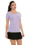 Bargray Women's Perfect Tunic II Orchid With Back Ruching | Golf or Tennis Wear