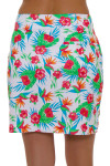 Greg Norman Women's Essentials Tropical Print Pull On Golf Skort