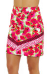 EP Pro NY Women's Poppy Fields Bouquet Print Golf Skort