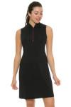 EP Pro NY Women's Marbella Print Blocked Golf Dress