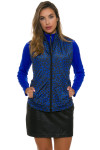 Greg Norman Women's Animal Instincts Quilted Reversible Vest | Golf Wear 4