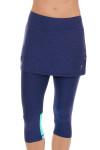 Sofibella Women's Nautical Navy Abaza Tennis Skirt Leggings   Tennis Wear 2