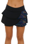 Tonic Active Women's Kaleidoscope Breeze Tennis Skirt TO-LS8044-KLS Image 2