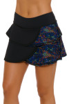Tonic Active Women's Kaleidoscope Breeze Tennis Skirt TO-LS8044-KLS Image 3