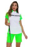 Annika Women's Eclipse Zip Competitor Pull On Golf Shorts