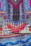Lucky In Love Women's Nepal Print Scallop Tennis Skirt