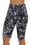 EP Pro NY Women's Culture Clash Skin Print Pull On Golf Shorts
