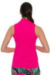 Lucky In Love Women's Core Chi Chi Pink Golf Sleeveless Shirt