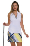 EP Pro NY Women's Spectator Sport Graphic Print Pull On Golf Skort
