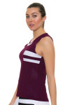 Tonic Active Women's Imperial Niroh Tennis Tank TO-2220-118-Imperial Image 2