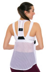 Tonic Active Women's Imperial White Muto Workout Tank TO-2225-118-White Image 2