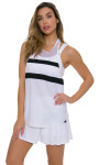 Tonic Active Women's Imperial White Muto Workout Tank TO-2225-118-White Image 5