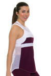 Tonic Active Women's Imperial Muto Workout Tank TO-2225-118-Imperial Image 3