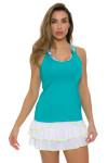 Lucky In Love Women's Haviana Long Rush Tennis Skirt