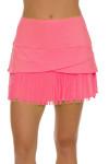 Lucky In Love Women's Long Fringe Scallop Lava Tennis Skirt LIL-CB183-820 Image 2