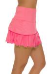 Lucky In Love Women's Long Fringe Scallop Lava Tennis Skirt LIL-CB183-820 Image 4