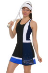Tonic Active Women's Monarch Black Serang Tennis Dress