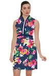 Allie Burke Polka Floral Golf Dress