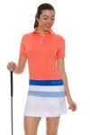 Redvanly Women's Echo Clinton White Golf Skort RV-AD1282-WHT Image 1