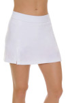 Redvanly Women's Echo Clinton White Tennis Skirt RV-AD1282-WHT Tennis Image 2