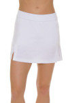 Redvanly Women's Echo Clinton White Tennis Skirt RV-AD1282-WHT Tennis Image 3