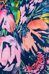 Allie Burke Watercolor Floral Print Pull On Golf Skort AB-BSKG01-WCF Image 6