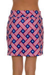 Allie Burke American Basket Weave Pull On Golf Skort AB-BSKG01-ABW Image 5