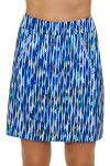 EP Pro NY Women's Luxor Striated Feather Print Pull On Golf Skort