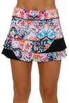 "Sofibella Women's Melbourne Power 13"" Tennis Skirt"