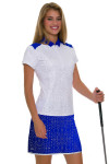 Annika Women's Hero Passion Printed Pull On Golf Skort AK-LAB00016 Image 3