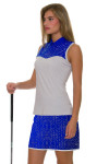 Annika Women's Hero Passion Printed Pull On Golf Skort AK-LAB00016 Image 1