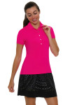 Lucky In Love Women's Laser Cut Medallion Pull On Golf Skort LIL-GB24-485001 Image 7