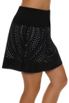Lucky In Love Women's Laser Cut Medallion Pull On Golf Skort LIL-GB24-485001 Image 4