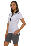 EP Pro NY Women's Gold Standard Angled Piping Golf Short Sleeve Polo-5