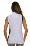 EP Pro NY Women's Gold Standard Asymmetric Blocked Golf Sleeveless Shirt-4