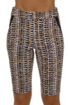 EP Pro NY Women's Gold Standard Tribal Print Pull On Golf Shorts-4